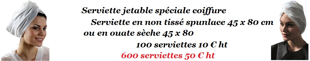 Serviette jetable